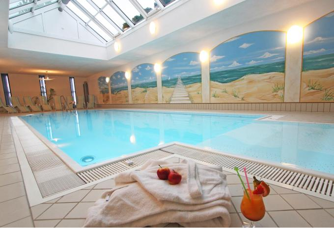 Schwimmbad im Hotel am Burgholz in Tabarz