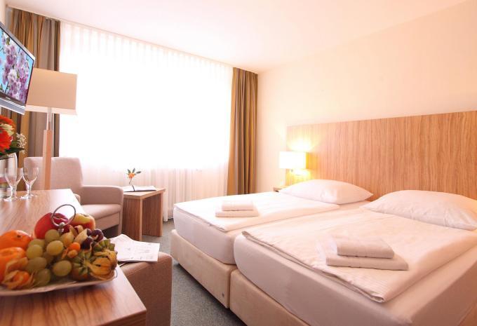 Zimmerbeispiel Hotel am Burgholz in Tabarz