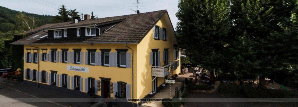 Aussenansicht Hotel Landgasthof Erdmannshöhle