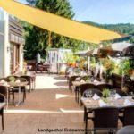 Terrasse Hotel Landgasthof Erdmannshöhle