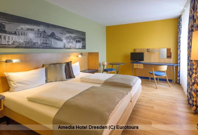 Zimmerbeispiel Das Amedia Hotel Dresden