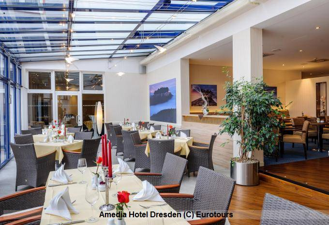 Restaurant Amedia Hotel Dresden