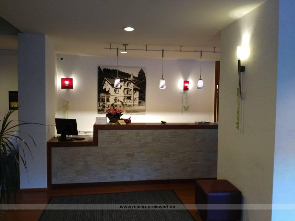 Empfang Hotel Bergfrieden Bad Wildbad Schwarzwald