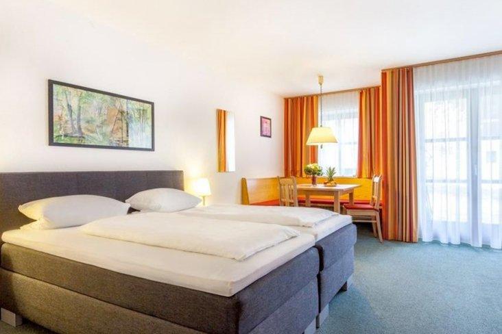 Doppelzimmer im Hotelresort Reutmühle