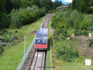 Sommerbergbahn in Bad Wildbad Schwazwald