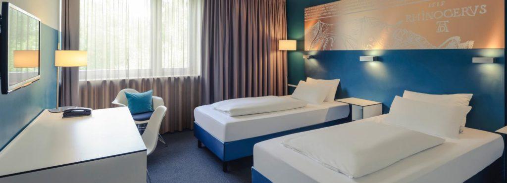 Doppelzimmer Conress Hotel Mercure Nürnberg