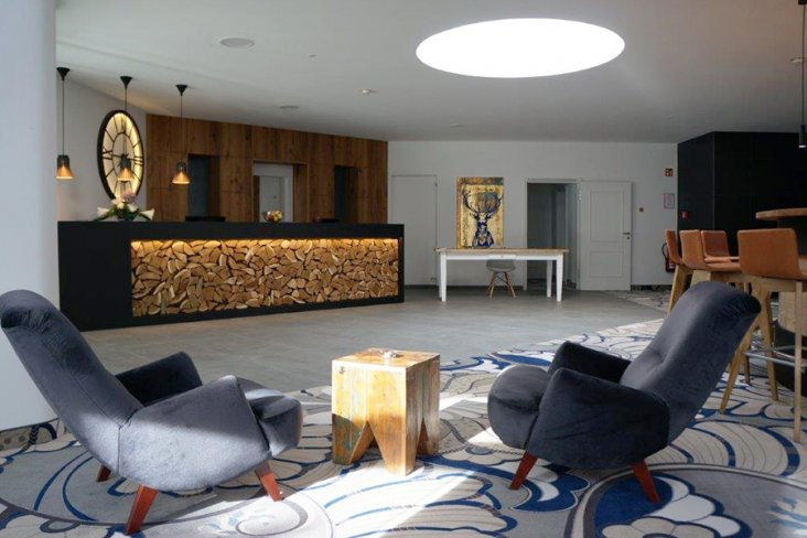 Empfang Suites & Spa Hotel 4MOODS Adultsonly Konzept