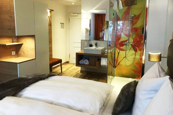 Doppelzimmer im Suites & Spa Hotel 4MOODS