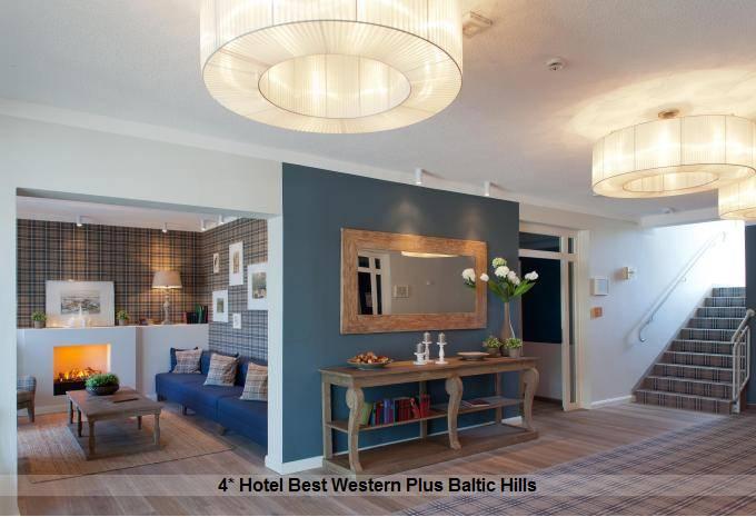 4* Hotel Best Western Plus Baltic Hills
