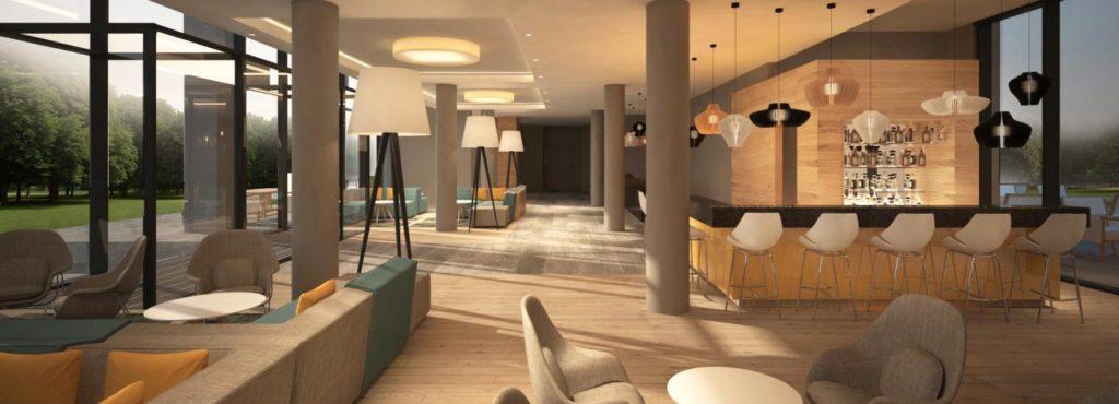 Lounge und Bar im Loginn by Achat Leipzig