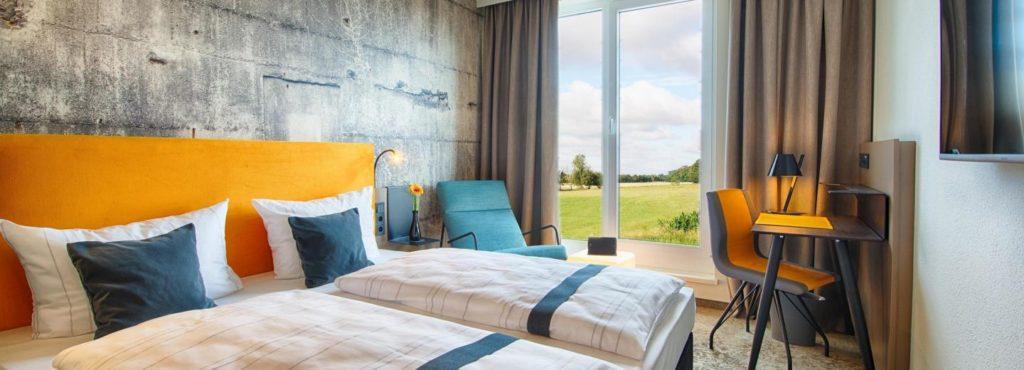 Doppelzimmer im Loginn by Achat Leipzig