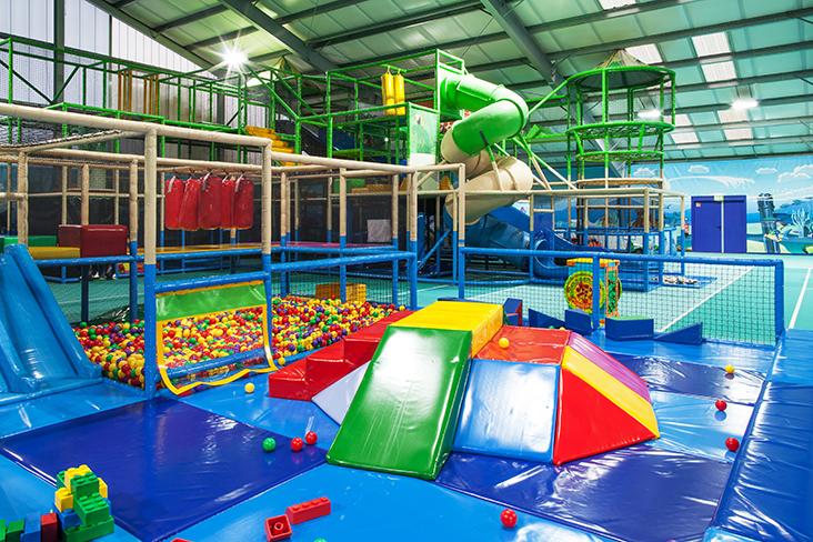 Indoor-Spielplatz Precise Resort Rügen