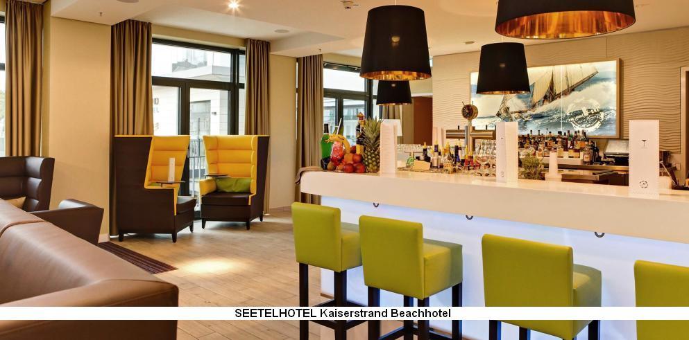 Lounge und Bar Seetelhotel Kaiserstrand Beachhotel Usedom Ostsee