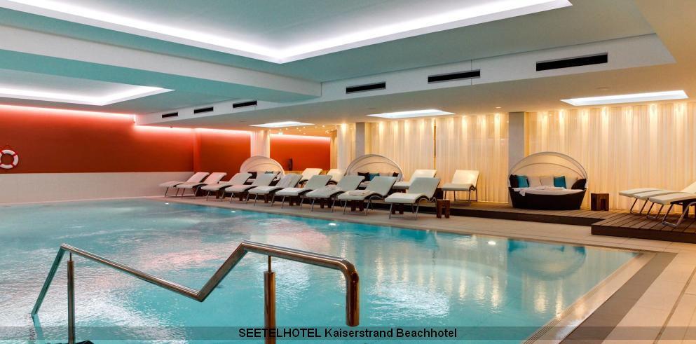 Wellness im Schwimmbad im Seetelhotel Kaiserstrand Beachhotel Usedom