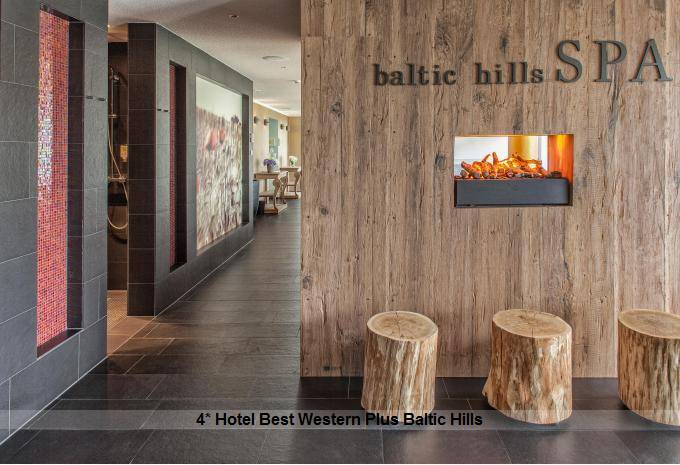 Wellness im Urlaub auf Usedom im 4* Hotel Best Western Plus Baltic Hills
