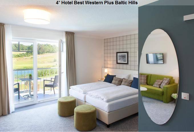 4* Hotel Best Zimmer Western Plus Baltic Hills