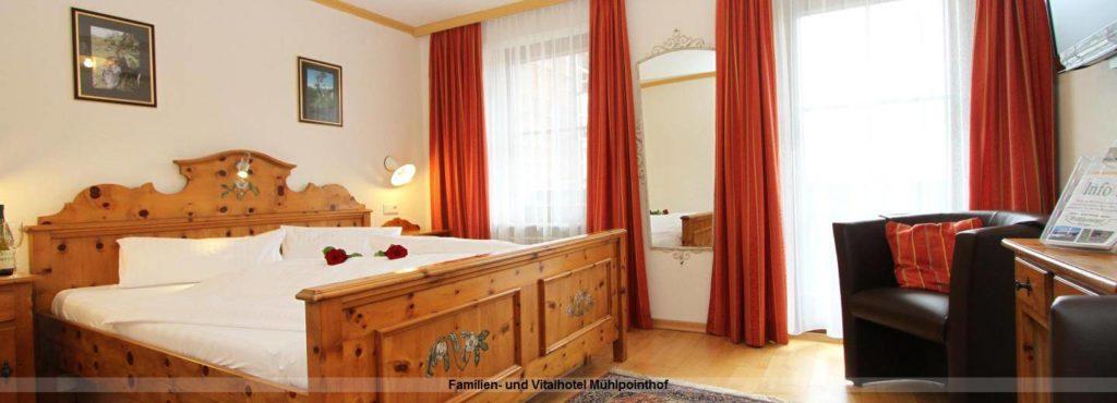 Zimmer im Familien- und Vitalhotel Mühlpointhof