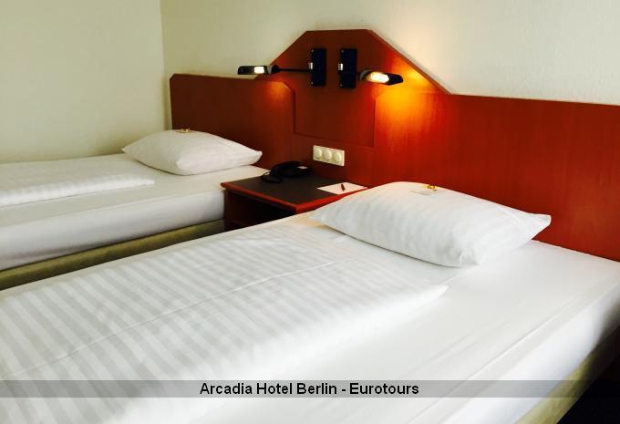 Doppelzimmer im Arcadia Hotel Berlin
