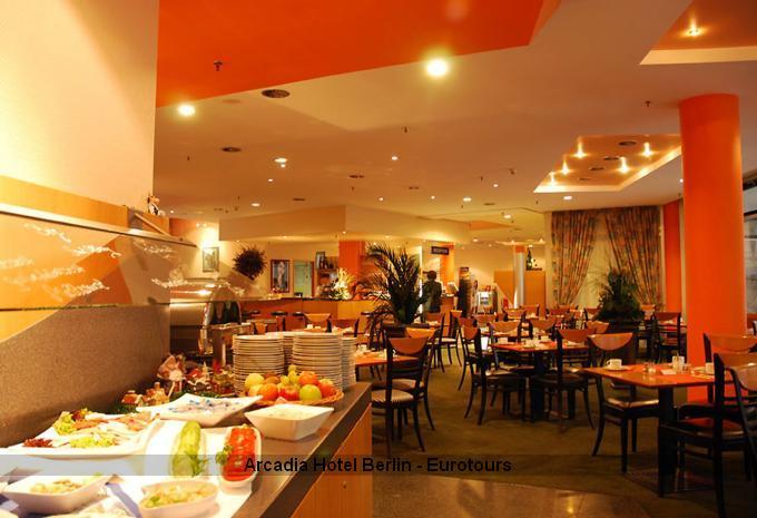 Frühstück im Arcadia Hotel Berlin