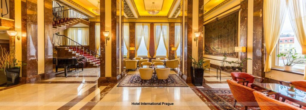 Lobby Hotel International Prague Prag