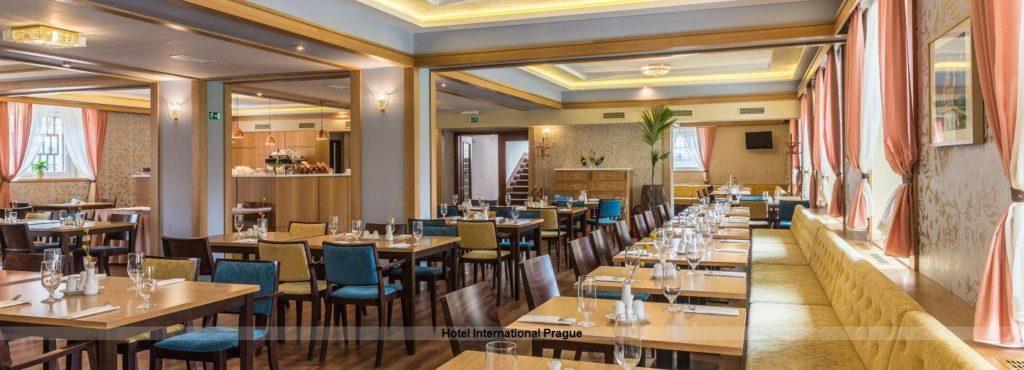 Restaurant des Hotel International Prague Prag