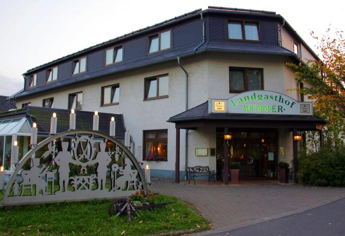 Aussenansicht Hotel Landgasthof Wemmer Erzgebirge