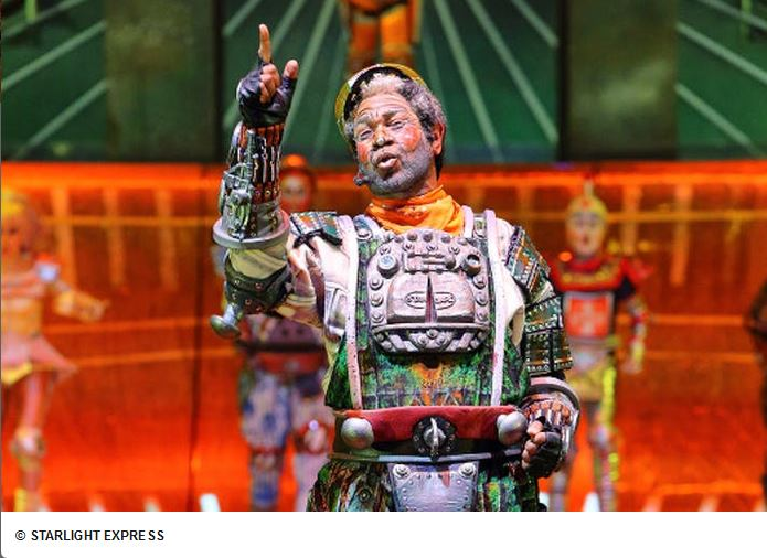 Papa, die alte Dampflok - Starlight Express Bochum - Show im Ticket Deal