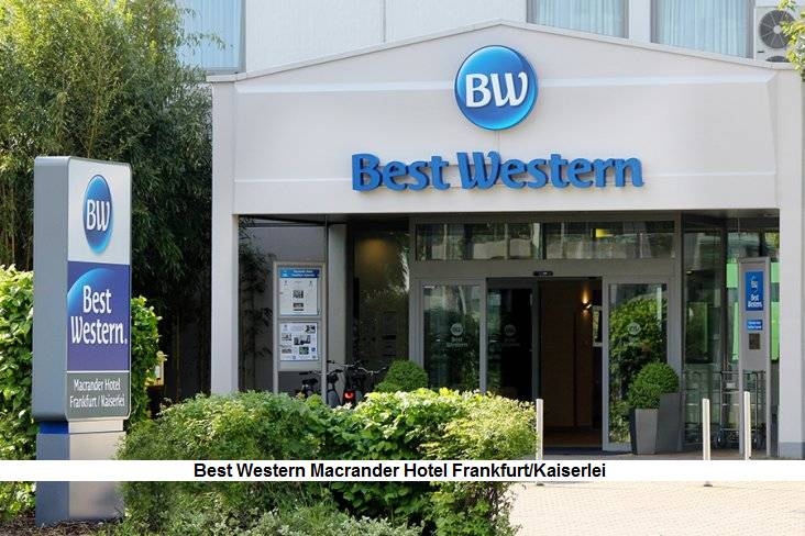 Aussenansicht Best Western Macrander