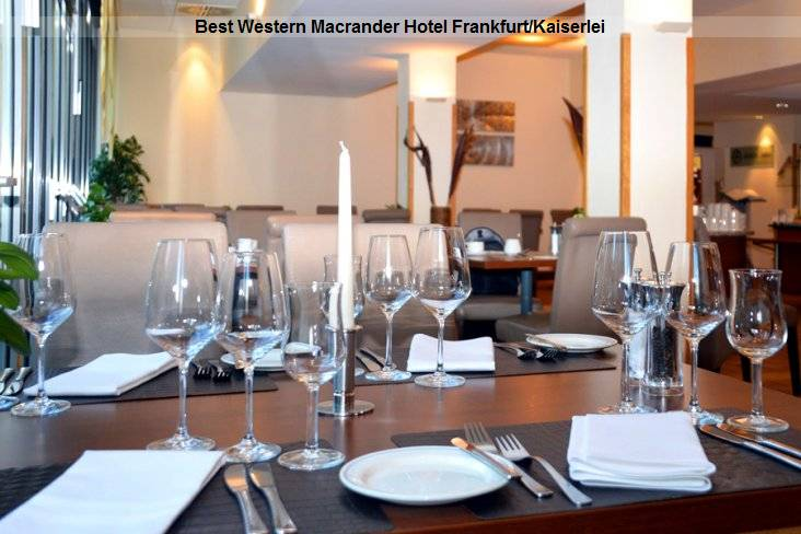 Restaurant Best Western Macrander