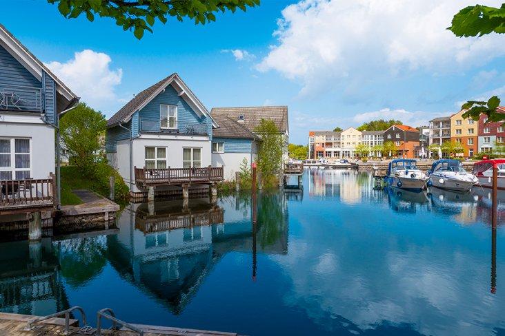 Ferienhaus direkte Wasserlage - Precise Resort Marina Wolfsbruch