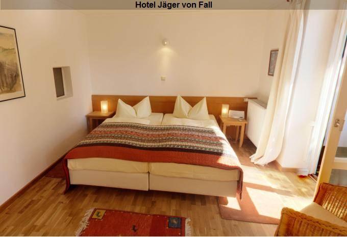 Zimmer im Hotel Jäger von Fall