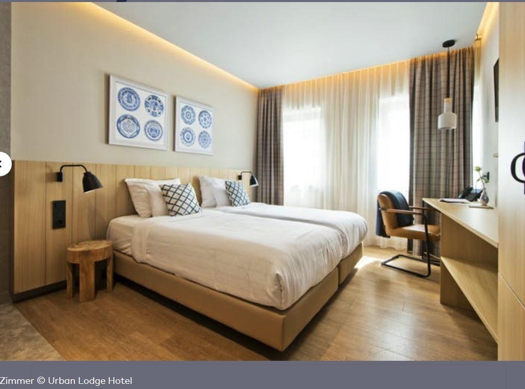 Hotel Urban Lodge Amsterdam Zimmer