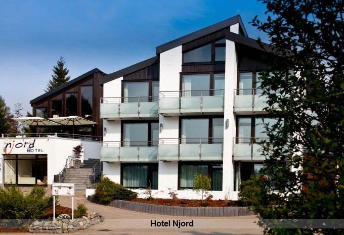 Aussenansicht Hotel Njord im Harz