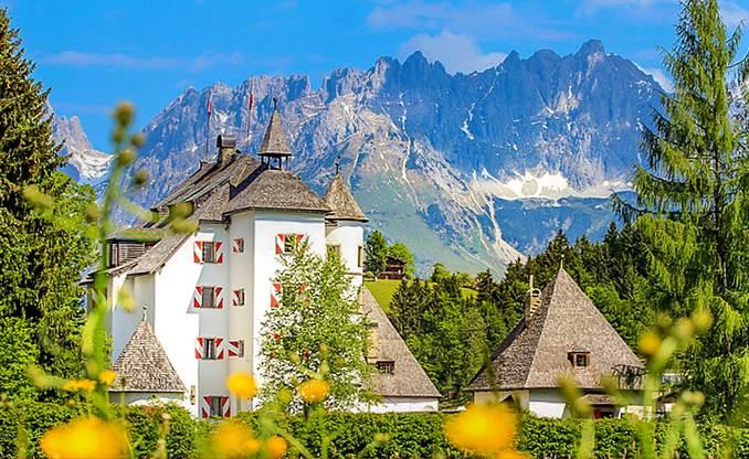 Hotel Schloss Münichau Aussenansicht