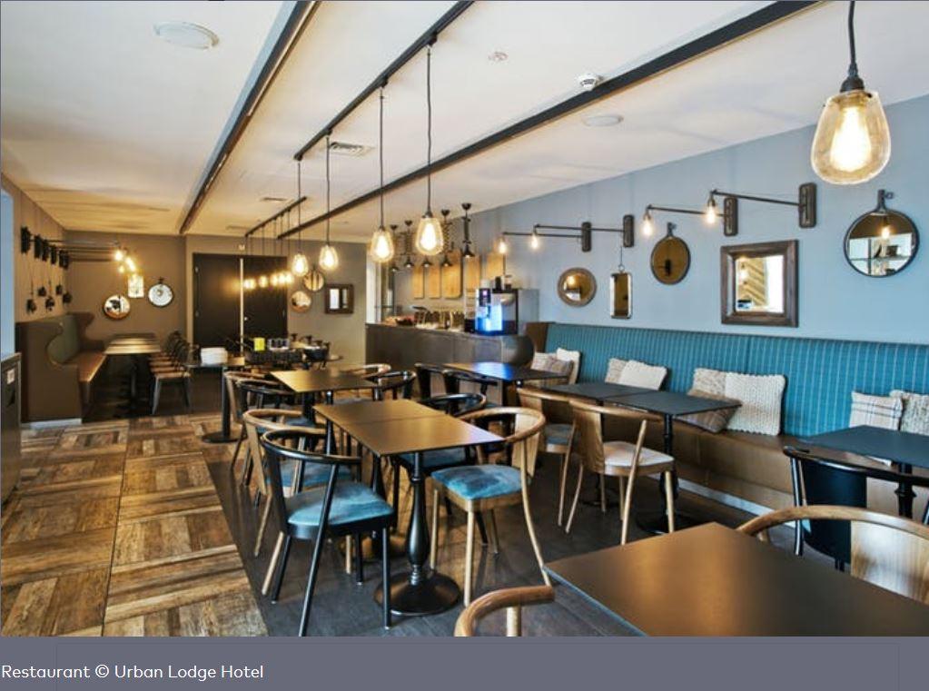 Restaurant Hotel Urban Lodge Amsterdam
