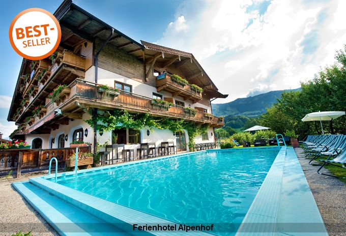 Wellness im Ferienhotel Alpenhof Aurach bei Kitzbühel