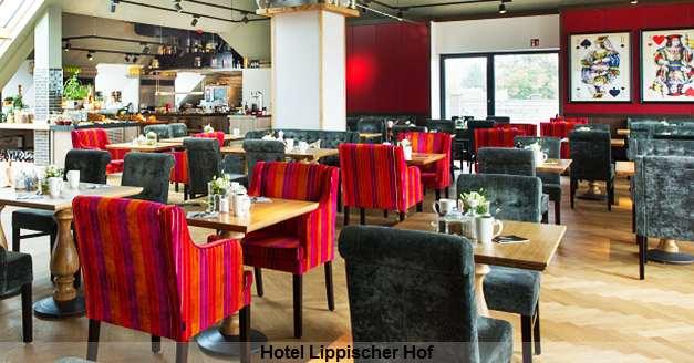 Frühstück im Hotel Lippischer Hof Bad Salzuflen