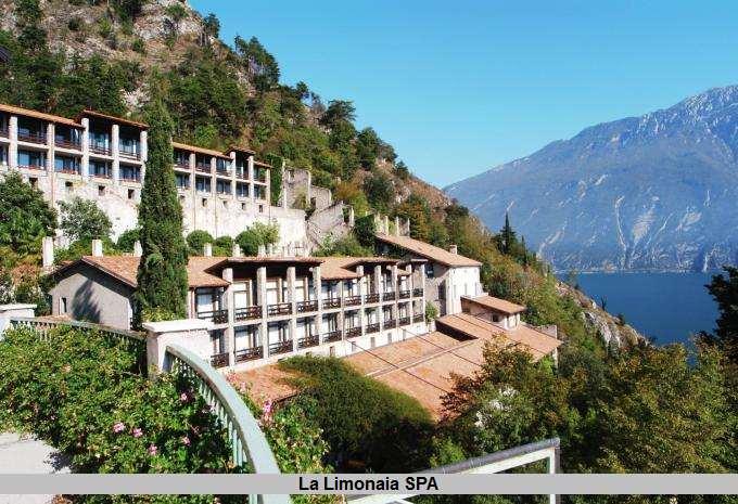 Tolle Lage des La Limonaia Spa - Gardasee Italien - Limone sul Garda