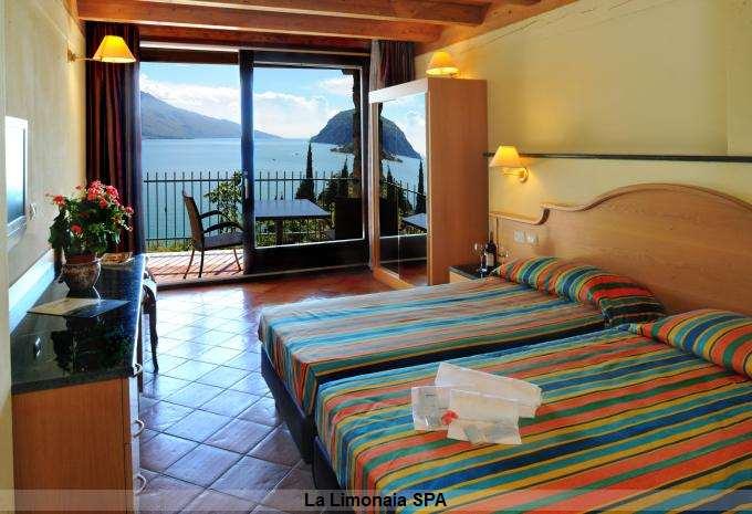Zimmer im La Limonaia Spa - Gardasee Italien - Limone sul Garda