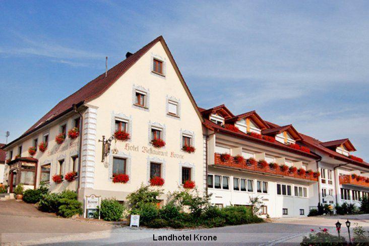 Aussenansicht Landhotel Krone Deggenhausertal