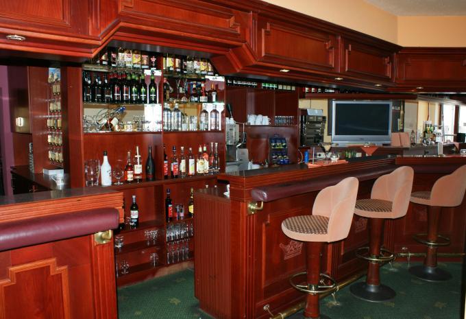 An der Bar - Urlaub im Hotel Brandener Hof Erbisdorf