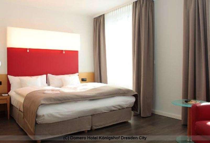 Doppelzimmer im Dormero Hotel Königshof Dresden City