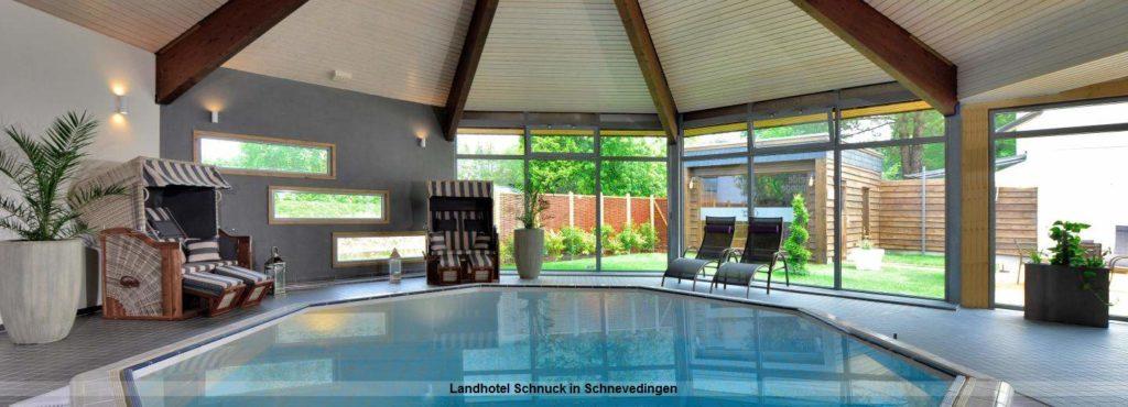 Wellnesbereich im Landhotel Schnuck in Schnevedingen