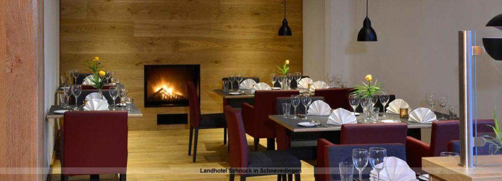 Restaurant im Landhotel Schnuck in Schnevedingen