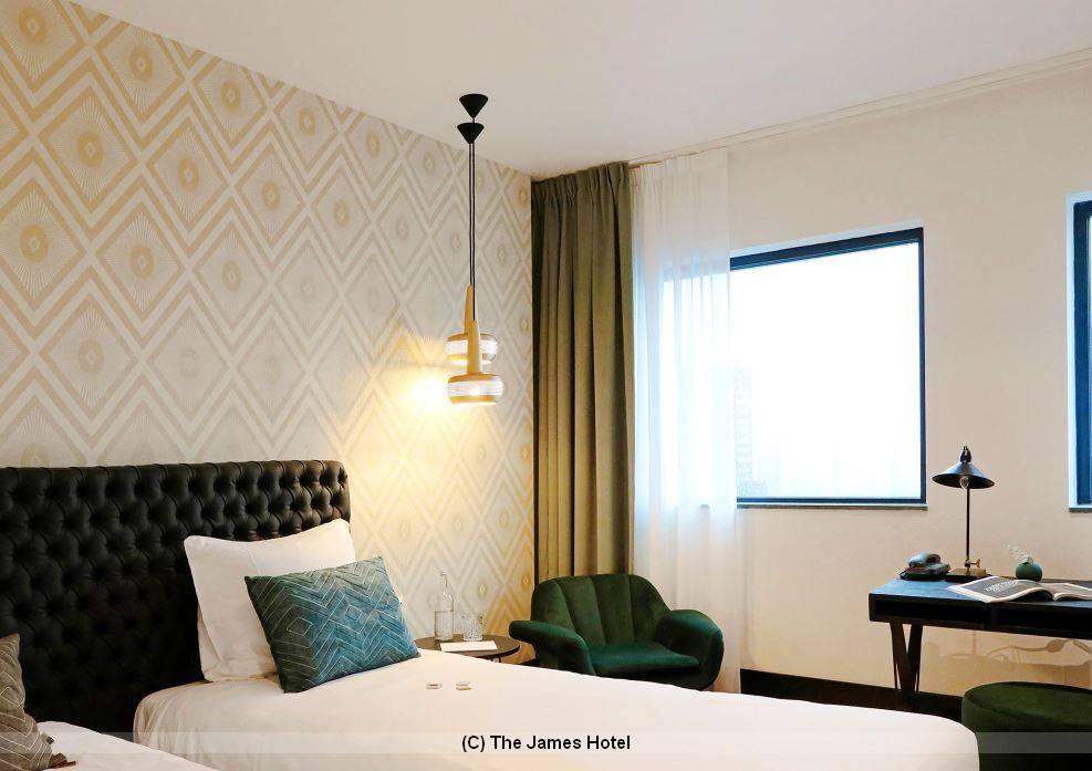 Zimme buchen The James Hotel Rotterdam
