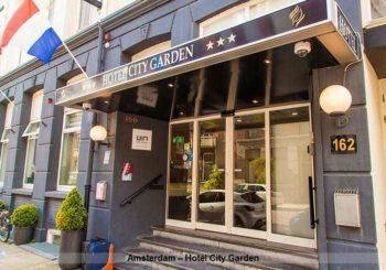 Amsterdam – Hotel City Garden 2 ÜF ab 49 €