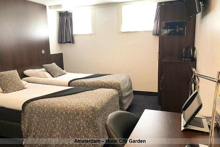 Zimmer im Amsterdam – Hotel City Garden