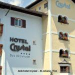 Aussenansicht des Aktivhotel Crystal in St. Johann