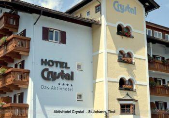 2x HP ab 89 € – Aktivhotel Crystal  – St Johann, Tirol